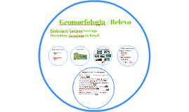 Geomorfologia Relevo
