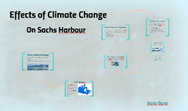 Copy of Effects of Climate Change