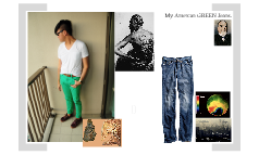 My American GREEN Jeans