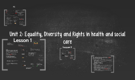 Copy of Copy of Unit 2: Equality, Diversity and Rights in health and social