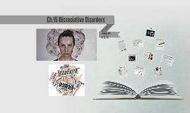 Ch.15 Dissociative Disorders