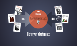 History of electronic
