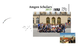 Copy of Amgen Scholars LMU