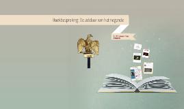 Boekbespreking: De adelaar van het negende