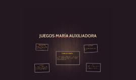 Copy of Copy of JUEGOS MARÍA AUXILIADORA