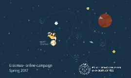Erasmus+ campaign