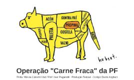 Debate: Operação Carne Fraca da PF