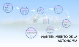 Copy of TÉCNICAS DE MANTENIMIENTO Y REHABILITACIÓN DE LAS FUNCIONES