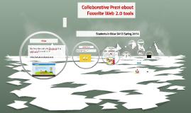 Collaborative Prezi about Favorite Web 2.0 tools