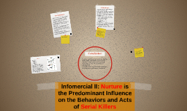 Nurture is the Predominant Influence on the Behaviors and Ac