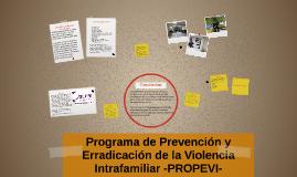 Programa de Prevención y Erradicación de la Violencia Intraf