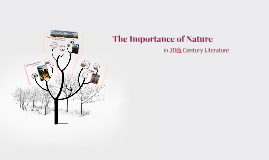 The Importance of Nature