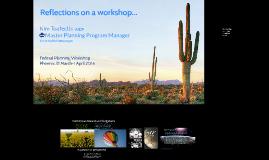FPD Phoenix Training Workshop Keynote