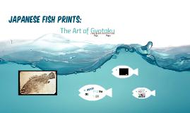 Copy of Japanese Fish Prints: The Art of Gyotaku
