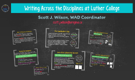 Writing Across the Disciplines at Luther College