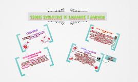 Teorie Evolutive di Lamarck e Darwin