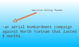 Operation Rolling Thunder