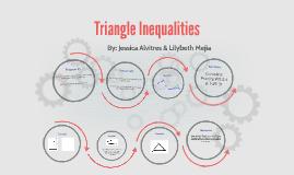 5.5 Triangle Inequalities