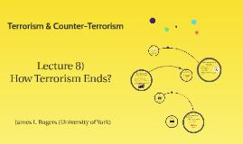 Terrorism & Counter-Terrorism