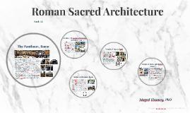 Roman Sacred Architecture II