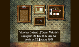 Victorian England of Queen Victoria's reign from 20 June 183