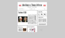 John Adams vs. Thomas Jefferson
