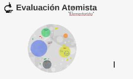 Evaluación Atomista
