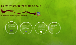 COMPETITION FOR LAND
