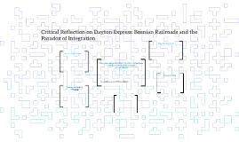 Critical Reflection on Dayton Express: Bosnian Railroads and the Paradox of Integration