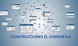 CONSTRUCIONES EL CONDOR