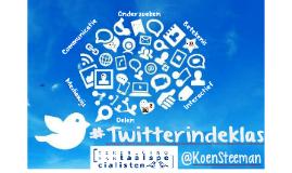 Twitter in de klas (Taalonderwijs 5.0)
