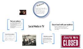 Social Media in TV
