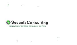 Sequoia Consulting Beta Presentation 2