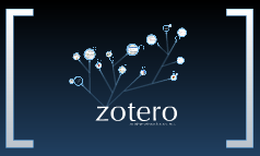 Zotero - An information Reference Tree