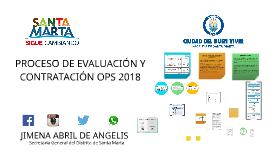 INFORME ESTADO DE OPS 2018