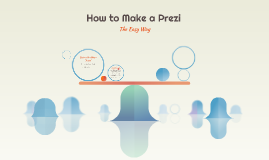How to Make a Prezi
