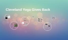 Cleveland Yoga Gives Back