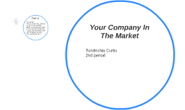 Your Company In The Market
