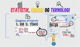Statistik, energi og teknologi