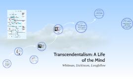 Transcendentalism: A Life of the Mind