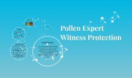 What be my credentials as an expert witness in pollen?