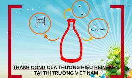Copy of THÀNH CÔNG CỦA THƯƠNG HIỆU HEINEKEN