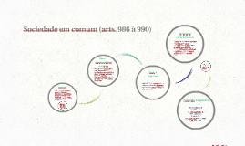 Sociedade em comum (arts. 986 à 990)