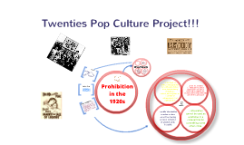 Twenties Pop Culture Project