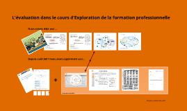 Explo - évaluation