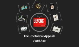 Rhetorical Appeals (Print Ads)