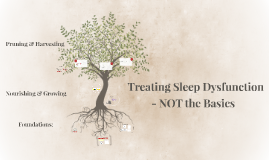 Treating Sleep - Not the Basics