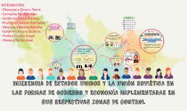INGERENCIA DE ESTADOS UNIDOS Y LA UNIÓN SOVIÉTICA EN LAS FOR
