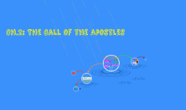 Ch.2: The Call of the Apostles