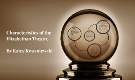 Characteristics of the Elizabethan Theatre